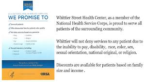 Nhsc Informational Poster Website Design Whittier Street
