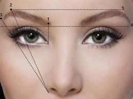 eyebrow shaping guide. eyebrow-shaping-strategy-for-younger-display eyebrow shaping guide