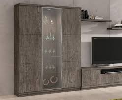 display cabinet with glass doors large