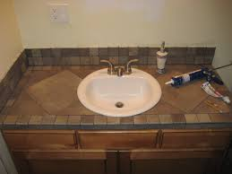 unique vibrant idea diy bathroom countertop ideas latest posts under tile at vanity