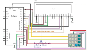 calculator with arduino microcontroller projects Arduino Rotary Encoder Wiring-Diagram at Create Arduino Mega Wiring Diagram