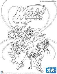 Dessiner Winx Club Enchantix