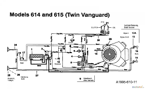mtd lawn tractors tg wiring diagram mtd lawn tractors 16 107 135t615g678 1995 wiring diagram vanguard