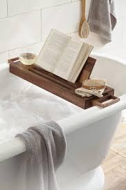 bathroom bath tub caddy for spa like atmosphere in the