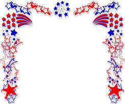Patriotic Border Backgrounds For Powerpoint Border And Frame Ppt
