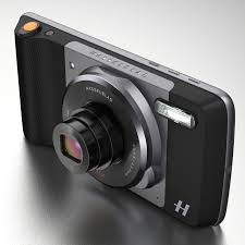 island design ideas designlens extended: the attachment gives your phone the design and ergonomics of a high end compact camera complete with a physical shutter button and zoom controls