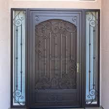 security front doorsSecurity Doors  Storm Doors  Custom Iron Security Screen Doors
