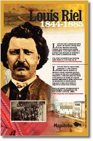 louis riel poster canadian teaching ideas social  louis riel poster