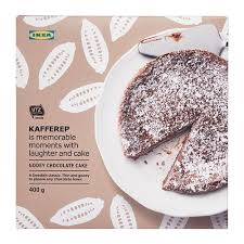 Kafferep Gooey Chocolate Cake Ikea