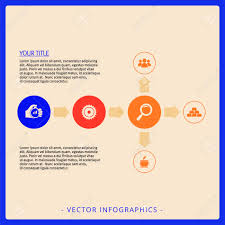 Flow Chart Title Editable Infographic Template Of Flow Chart With Icons Title