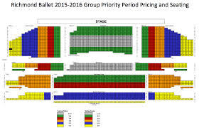Virginia Theater Seating Chart Richmond Ballet Ticket Information Discounted Tickets