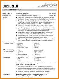 8 Technician Resume Example G Unitrecors