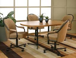 casual dining chairs with casters: cheap dining chairs with casters and arms is free wallpaper hd
