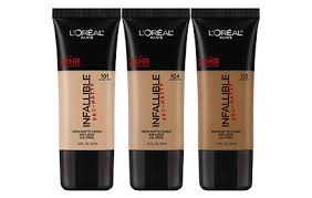 l oreal paris infallible pro matte foundation 30ml 7 colors to choose