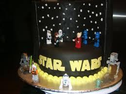 Star Wars Lego Decorations Lego Star Wars Cake Cakecentralcom