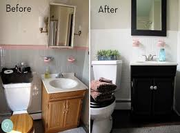 Small Bathroom Remodels On A Budget Gorgeous After Small Bathroom Decor Small Bathrooms Makeover Small Bathroom