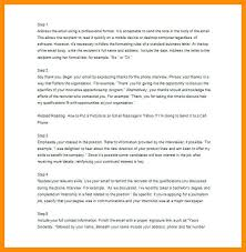 Sample Thank You Letters After Job Interview Inspiring Letter To ...