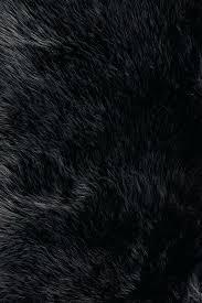 black fur rug black faux fur rug