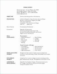 Sample Resume College Graduate Elegant Objective For A Resume New