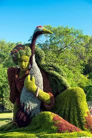 garden art. Sustainable Garden Art: Fascinating Sculptures Of Plants Art D