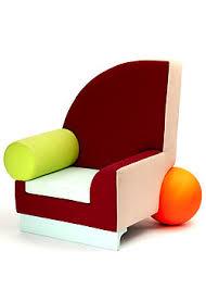 Post Modernist Furniture Bel Air Chair Peter Shire 1982 Post Modernist Furniture T