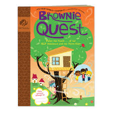 Brownie girl scout books