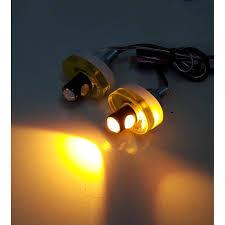 Đèn Led xi nhan sau cho Exciter 150 , xi nhan Led xe Exciter 150 - Hình tròn  - Màu vàng giảm chỉ còn 149,000 đ