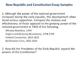 essay writing response and dbq ppt video online  new republic and constitution essay samples