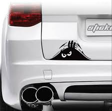 Funny Peeking Monster Auto Car Walls Windows Sticker Graphic Vinyl