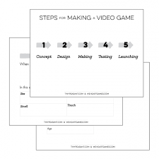Game Design Document Template Video Game Design Doc We Heart Games