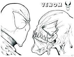 Venom Coloring Page Betterfor