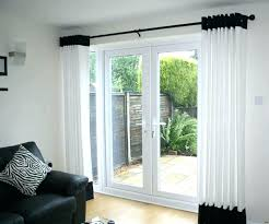 patio window coverings ideas curtains kitchen door treatments for french doors curtain throughout i