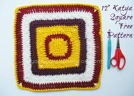 Square Crochet Pattern Simple Decorating Ideas