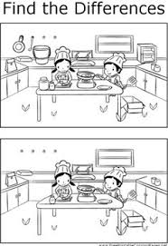 Small Picture Free printable kitchen themed puzzle and activity pages for