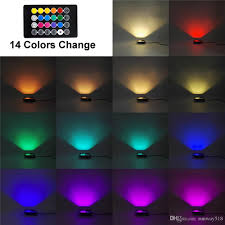 Outdoor Color Changing Led Lights 10w Rgb Led Flood Lights Outdoor Color Changing Led Security Light 16 Colors 4 Modes With Remote Control Ip65 Waterproof Led Floodlight