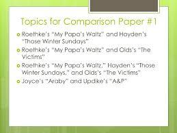 ap seminar comparison essay topics writing an effective thesis  5 topics