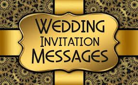 Wedding Inviting Words 30 Wedding Invitation Messages And Wording Ideas Wishesmsg