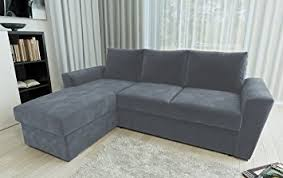 corner sofa bed. Direct Furniture Stanford L-Shape Left/Right Corner Sofa Bed With Internal Storage,