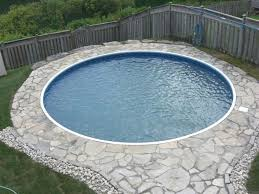 ... Interior Design, Small Inground Pools For Small Yards With Round Design  Pools For Small Yards ...