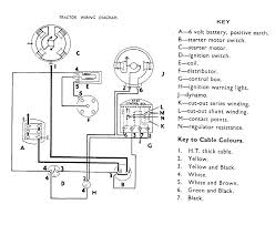 diesel tractor wiring diagram useful bits 6 volt wiring diagram