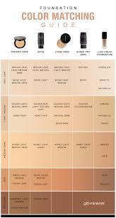 fair to light plexion foundation color families