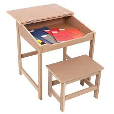 school desk and chair combo. premier housewares childrens desk and stool set school chair combo