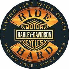 Harley Davidson Signs Decor HarleyDavidson Home Décor Plaques Signs EBay 11