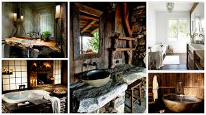 Rustic Bathrooms Exceptional Rustic Bathroom Designs Filled With Coziness And Warmth