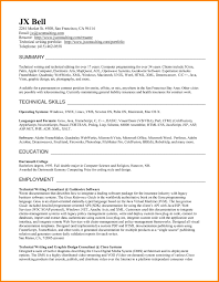10 Technical Writing Resume Foot Volley Mania