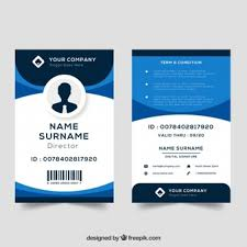 company id card templates id cards vectors photos and psd files free download