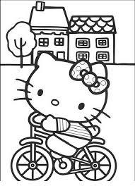 Hello Kitty Disegno Da Stampare E Da Colorare Disegni Da Colorare
