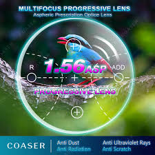 Free Form Multifocal 1.56 Progressive Lens <b>Glasses Transition</b> ...