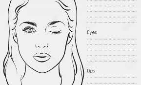 mac makeup face charts free makeupview 16 artist stock vector ilration and royalty