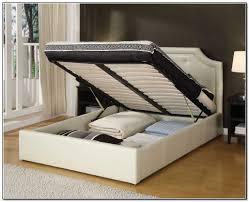 King Platform Bed Frames Ideas With Fascinating Frame Storage